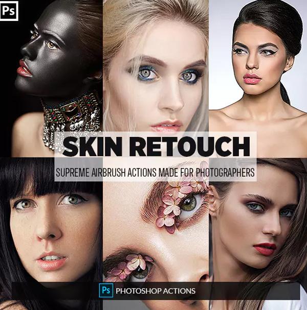 Skin Retouching Photoshop Actions - 45+ Free & Premium Downloads