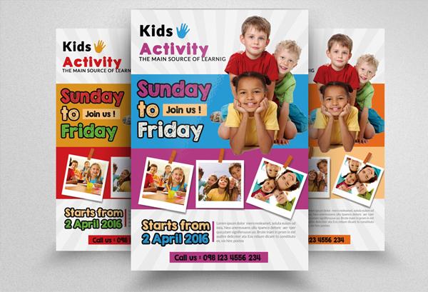 Editable Kindergarten Junior School Flyer