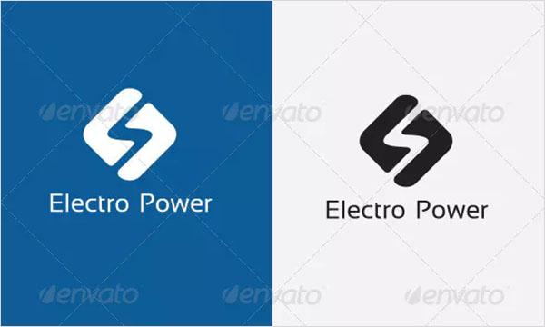 Electric Bolt Logo Template Design