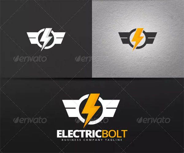 Electric Bolt Logo Template