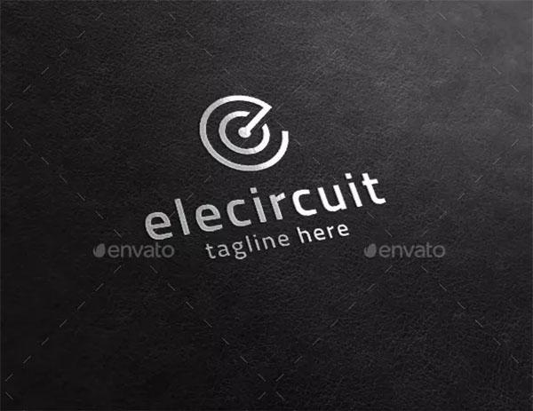 Electric Circuit - Creative C E Logo