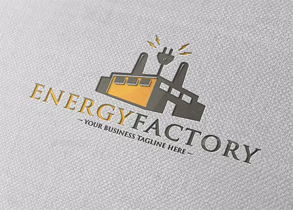 Electric Factory Logo Template