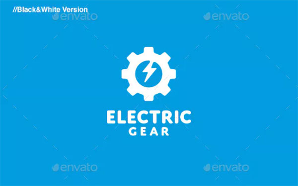 Electric Gear Logo