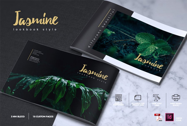 Elegant Garden Catalogue Template