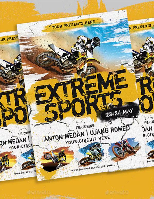 Extreme Bikes Sports Flyer
