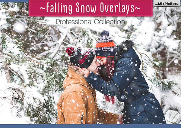 Falling Snow Overlays