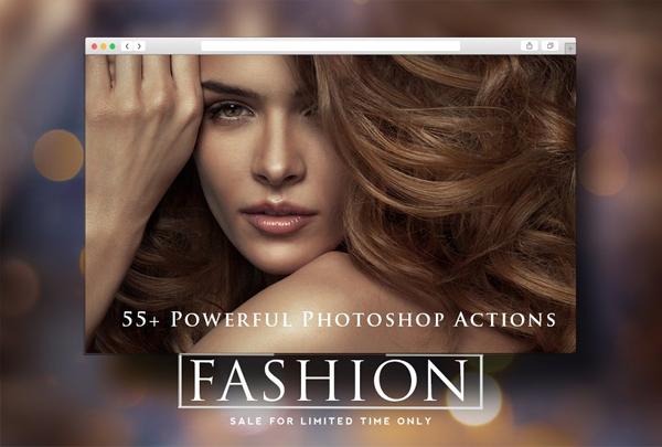 Fashion Pro Photoshop actions Bundle
