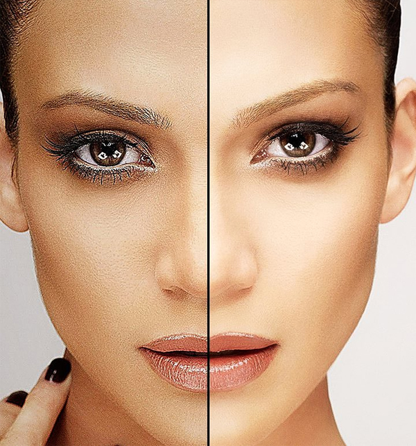 Fine Skin Retouch Photoshop Action