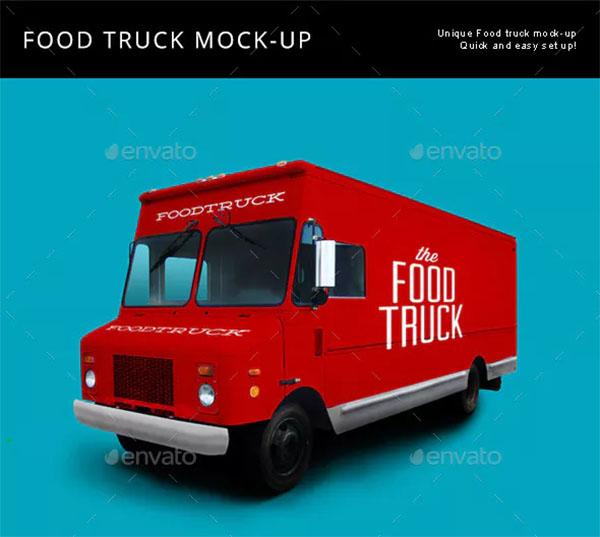 Food Truck Mock Up