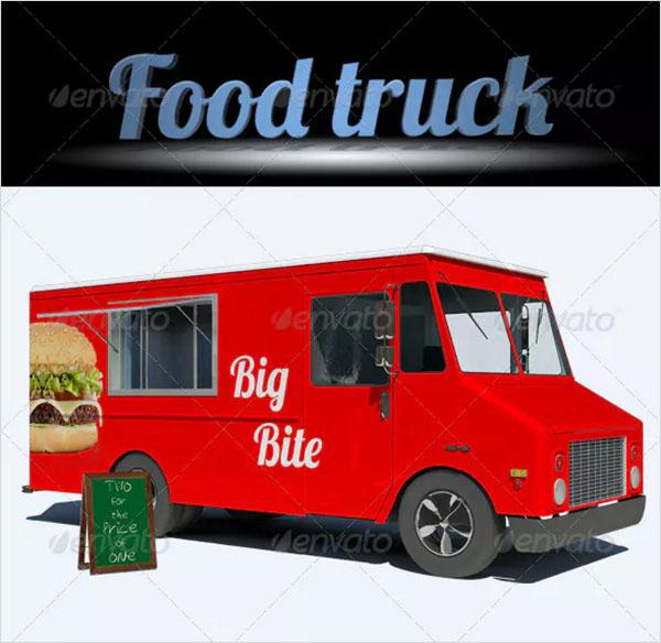 Food Truck Mockups