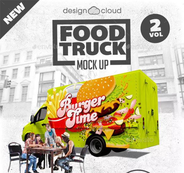 Food Truck Mockup Kit
