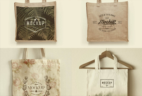 Free Bag Mock-up Templates