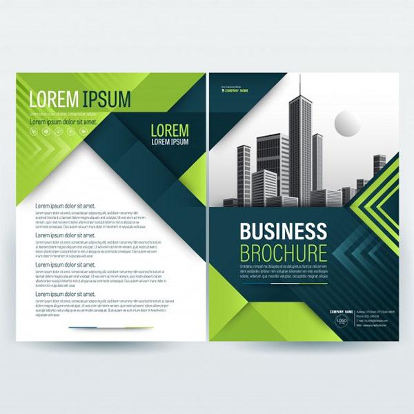 Free PSD Company Business Brochure Template