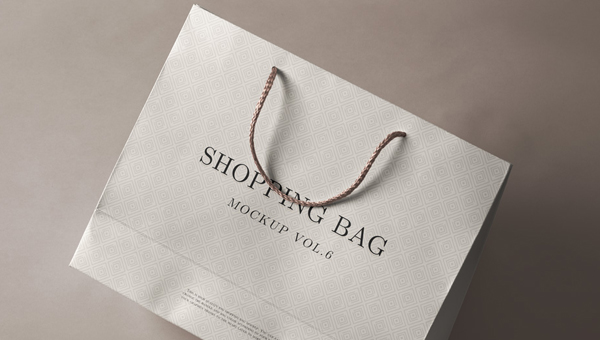 Free PSD Shopping Bag Mockups