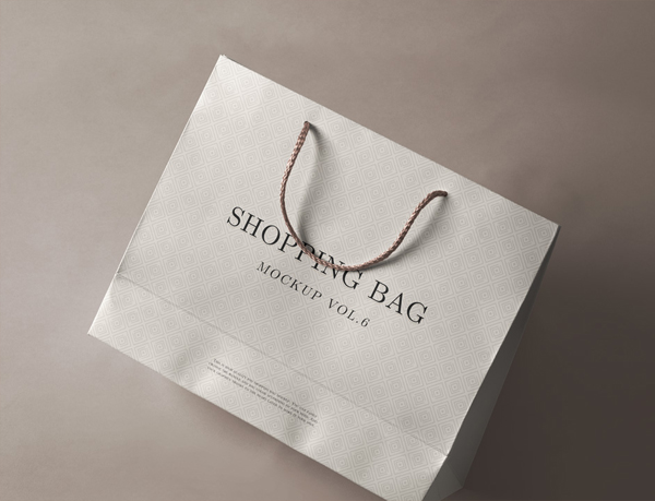 Free Psd Shopping Bag Mockup Template
