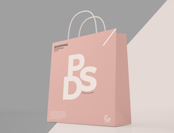Free Shopping Bag Mockup Photoshop