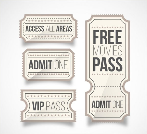 Free VIP Pass Card Template