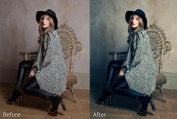 Fully Editable Skin Retouching Photoshop Actions