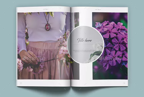 Garden Magazine Indesign Template