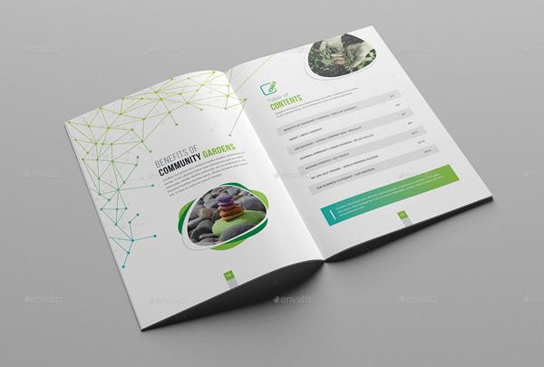 Garden Service Brochure Template