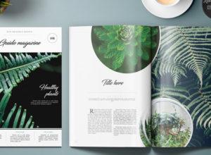 Gardening Magazine Templates