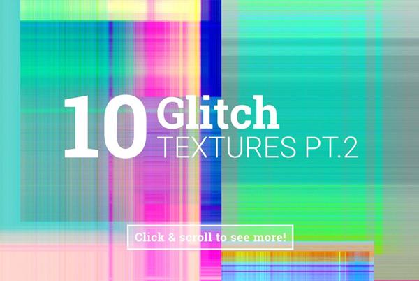 Glitch PSD Textures
