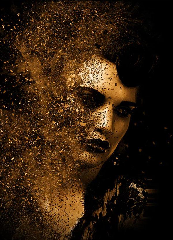Gold V1 Photoshop Action Bundle