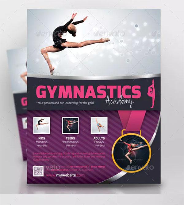 Gymnastics Sports Flyer