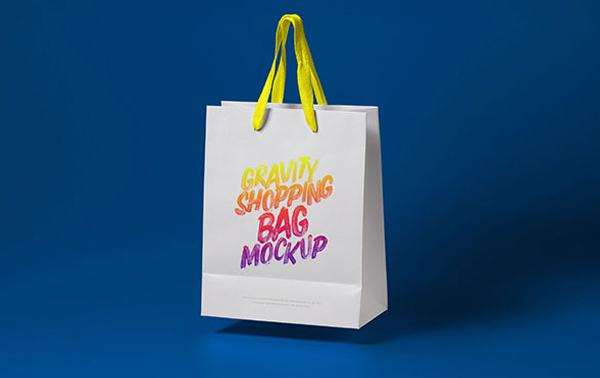 High Quality Free Shopping Bag Mockup PSD Files