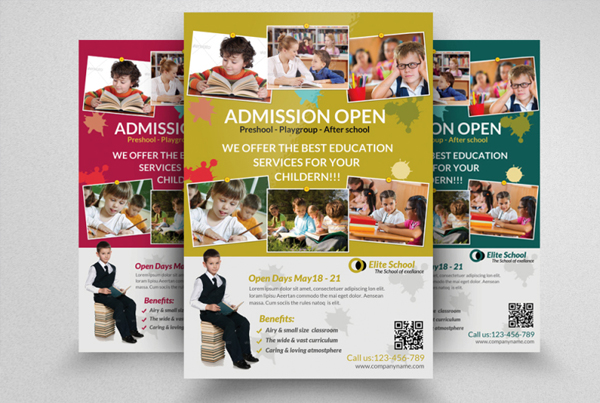 Junior School Education Flyer Templates