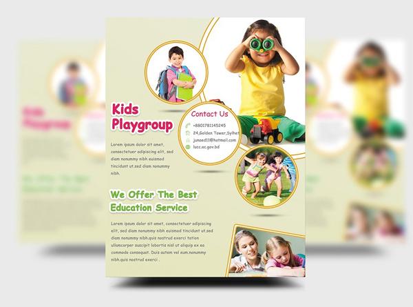 Kids Education Flyer Templates