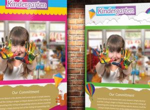 Kindergarten Flyer Templates