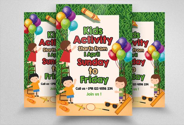 Kindergarten Junior School Flyer Design