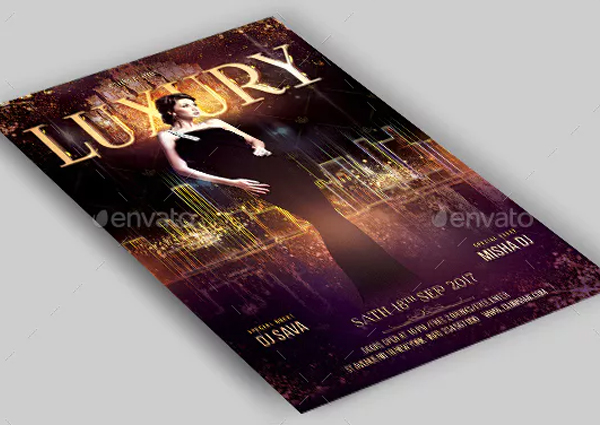 Luxury Night Club Party Flyer Template