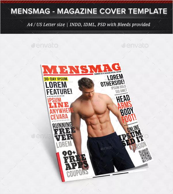 MensMag - Multipurpose Magazine Cover Template