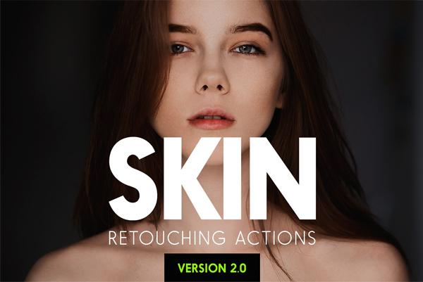 Model Body Skin Retouching Actions