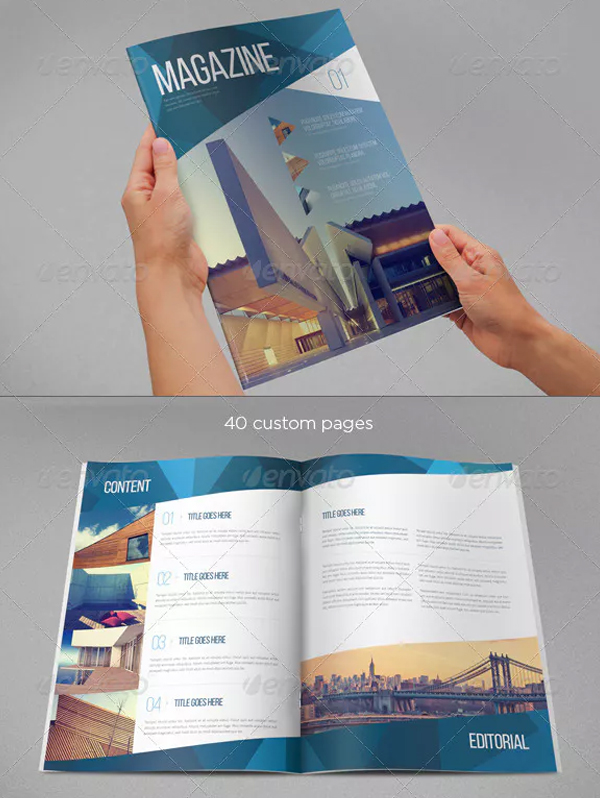 Modern Architecture Magazine Design Template