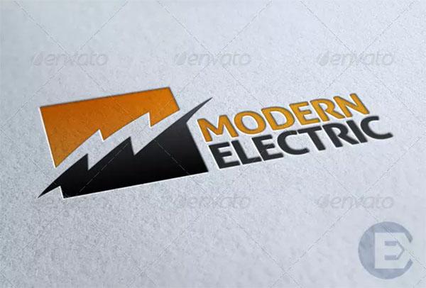 Modern Electric Logo Design