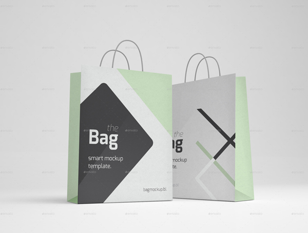 Modern Shopping Bag Mockup PSD Template