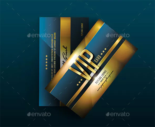 Multipurpose Colorful VIP Card