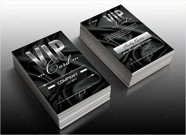 Multipurpose Elegant VIP Card