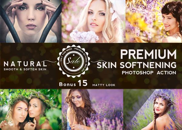 Natural Skin Retouching Action