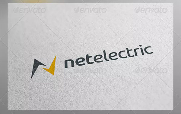 Net Electric Logo Template