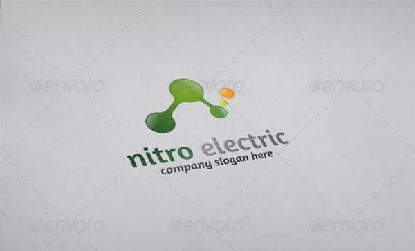 Nitro Electric Logo Template