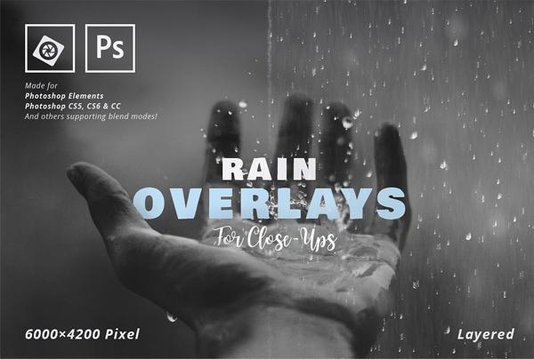 Photorealistic Rain Overlay