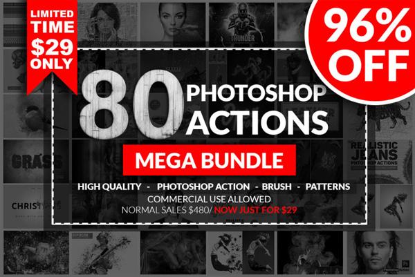 Photoshop Action Mega Bundle