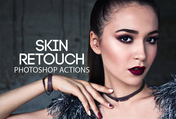 Photoshop Skin Retouch Actions Kit