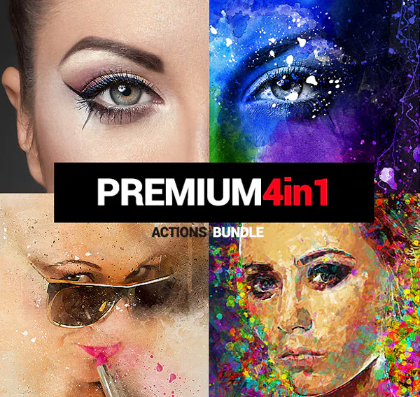 Premium Photoshop Actions Bundle
