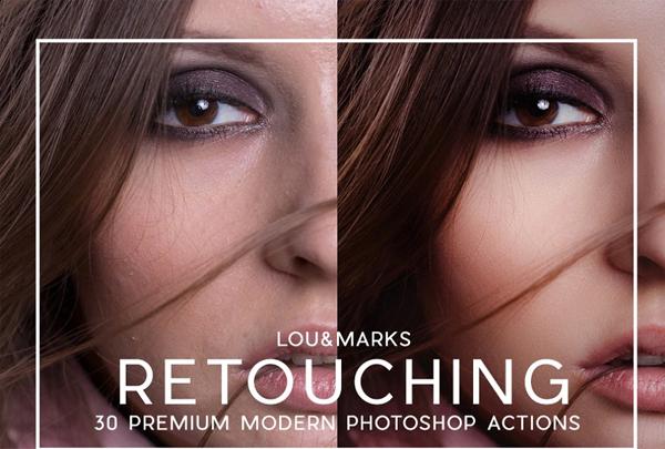 Pro Portrait Retouching Actions