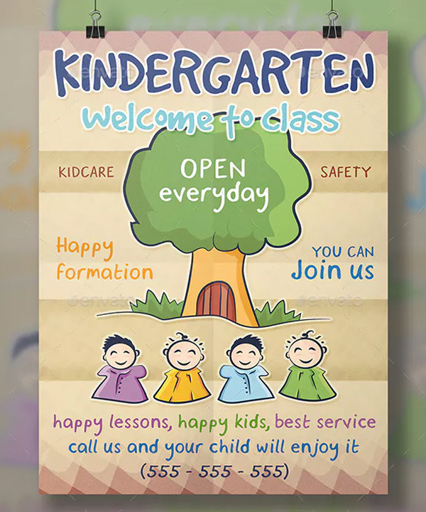 It is an image of Free Printable Daycare Flyers with in home